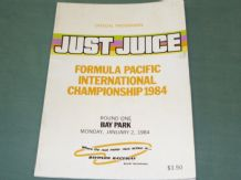 BAY PARK 1984 January 2 Formula Pacific  (NZ)